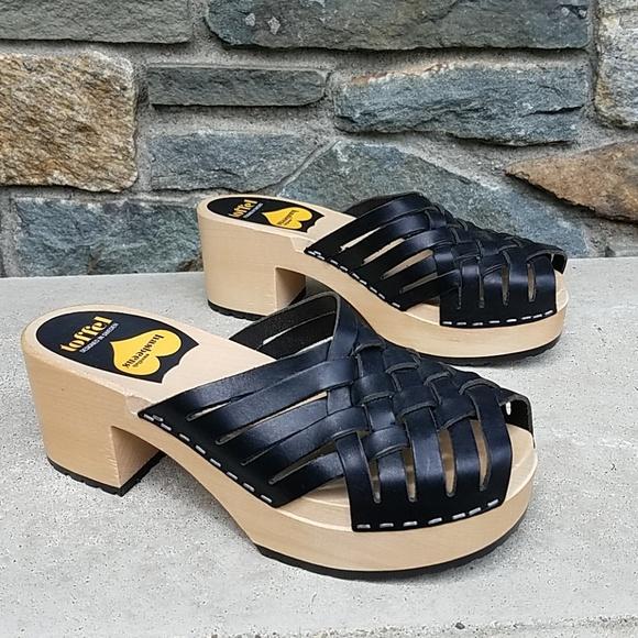 swedish hasbeens Womens Karin Platform Sandal